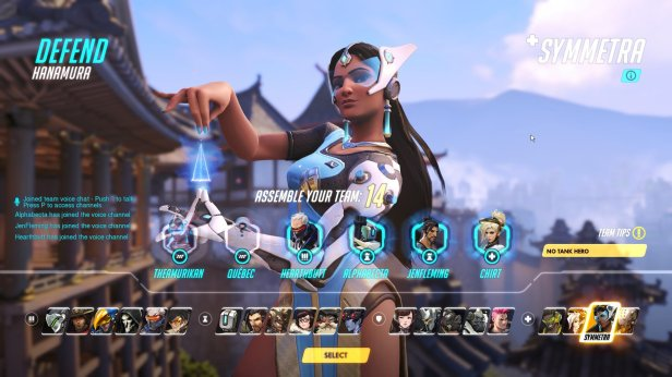 Overwatch-Character-Selection